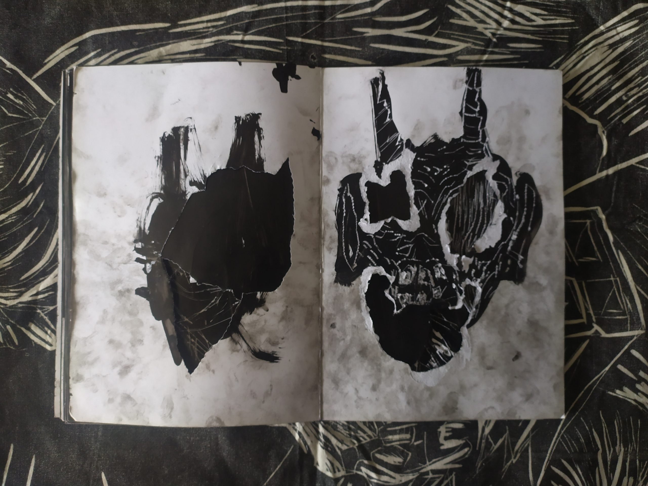 ZORROMONO- la mirada de la rutina artist book (16)