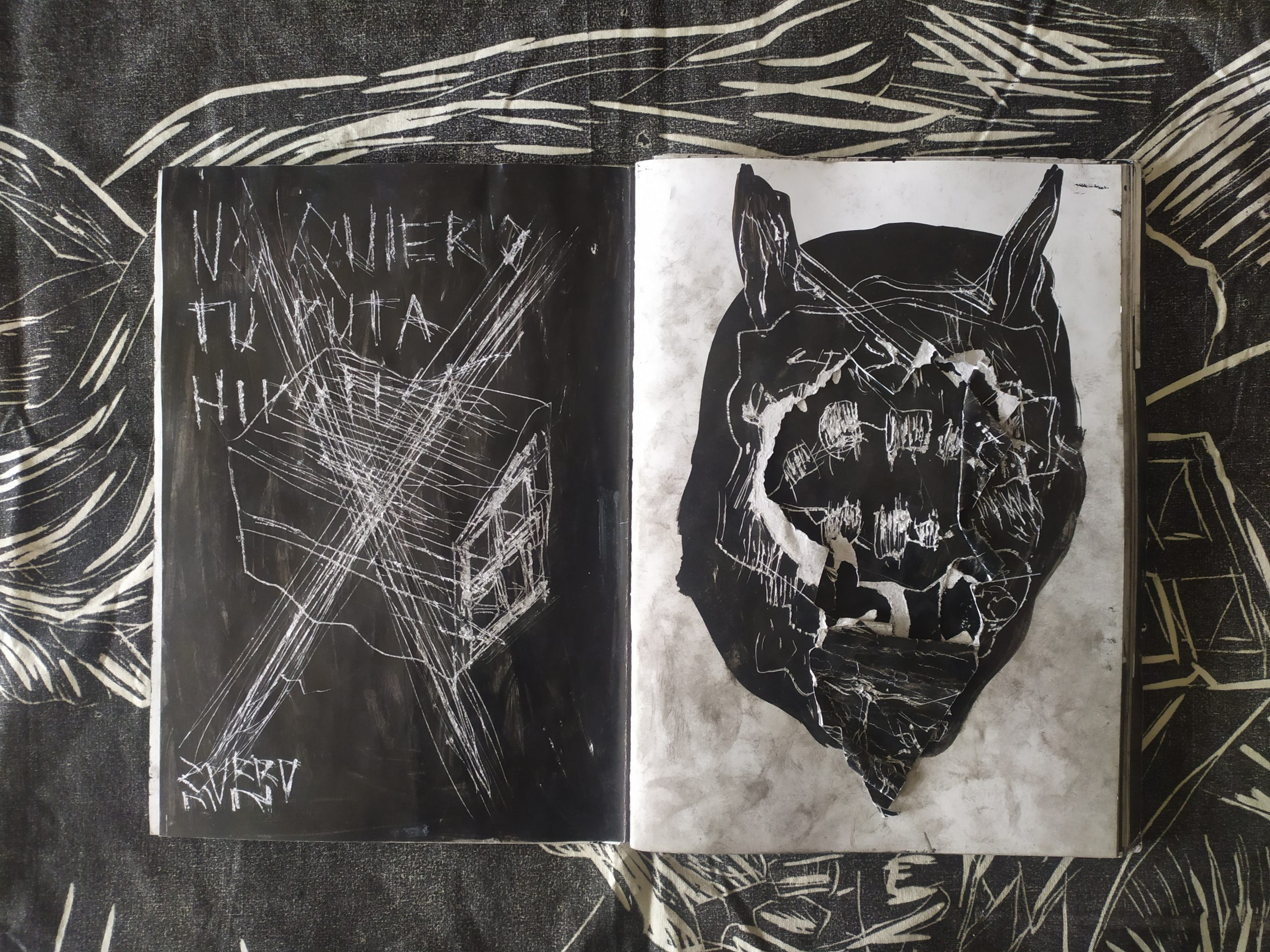 ZORROMONO- la mirada de la rutina artist book (4)