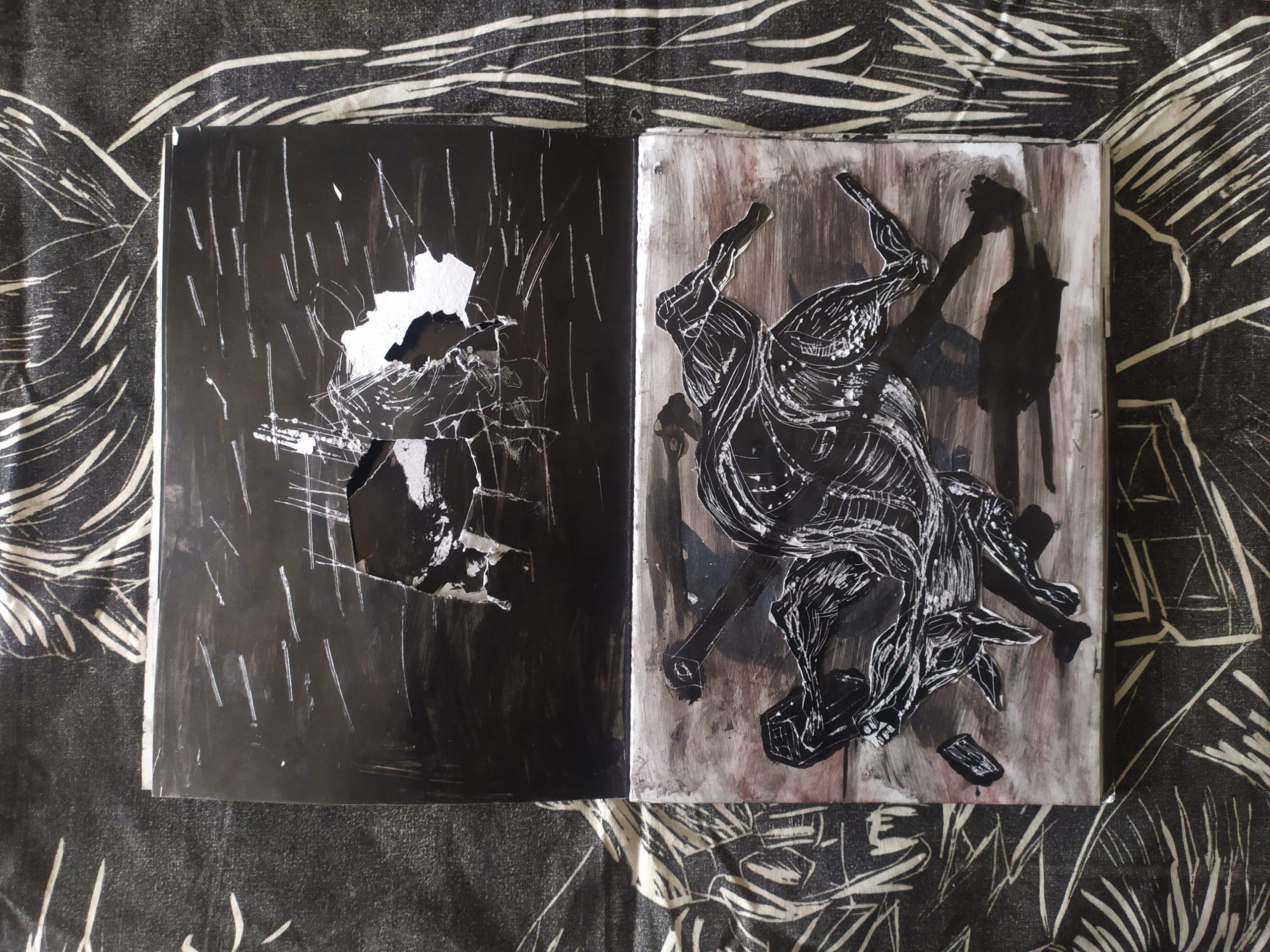 ZORROMONO- la mirada de la rutina artist book (9)